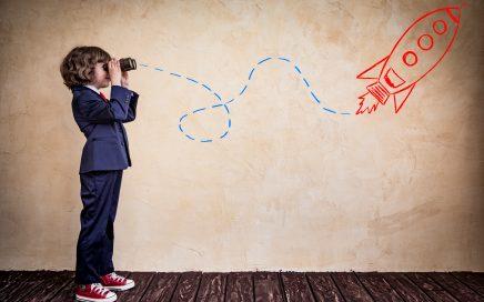 Een kind heeft net als vrijwilligers dromen van een grootse toekomst.